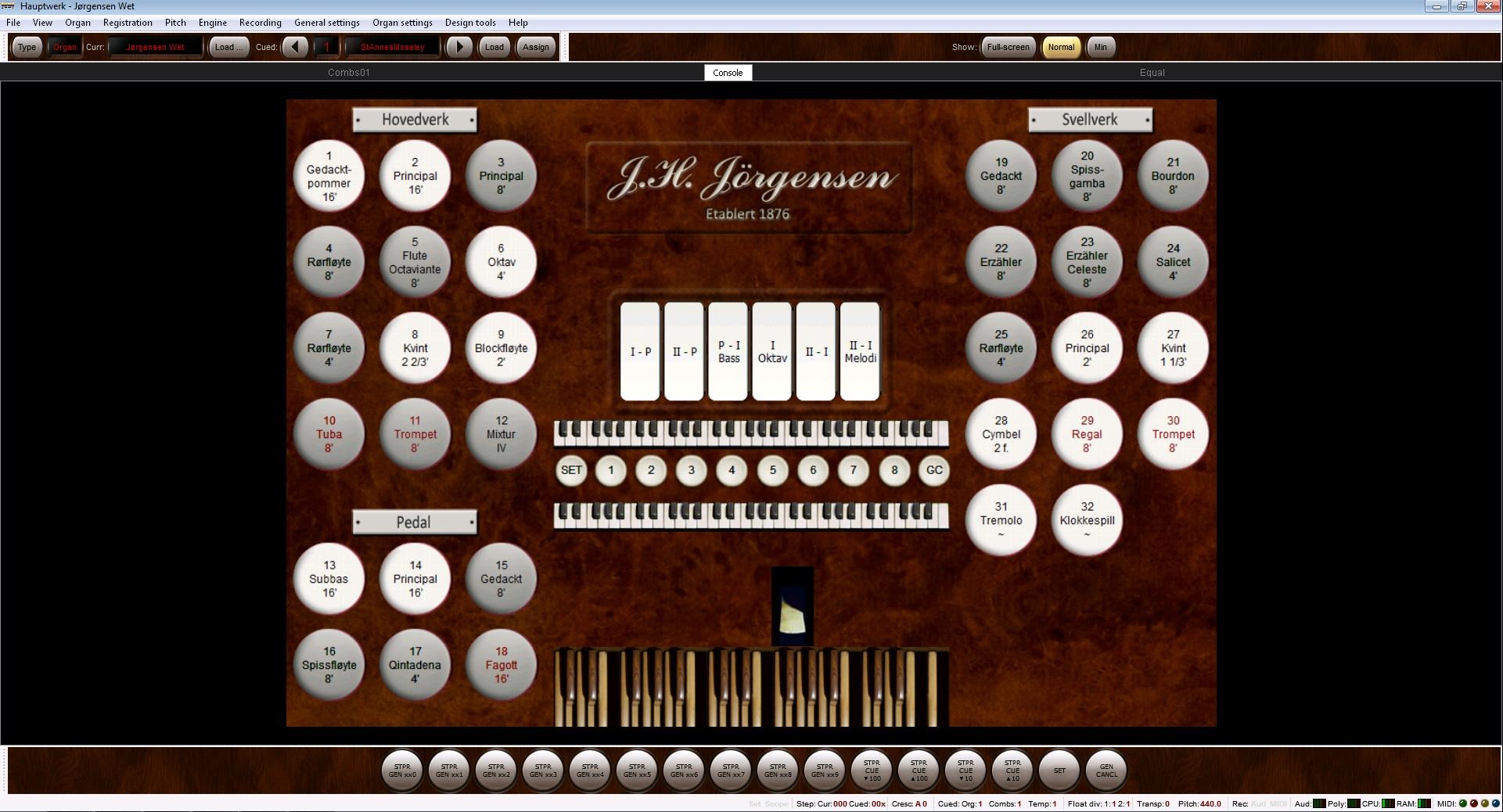 Het Jørgensen Tribute-sampleset uit Noorwegen