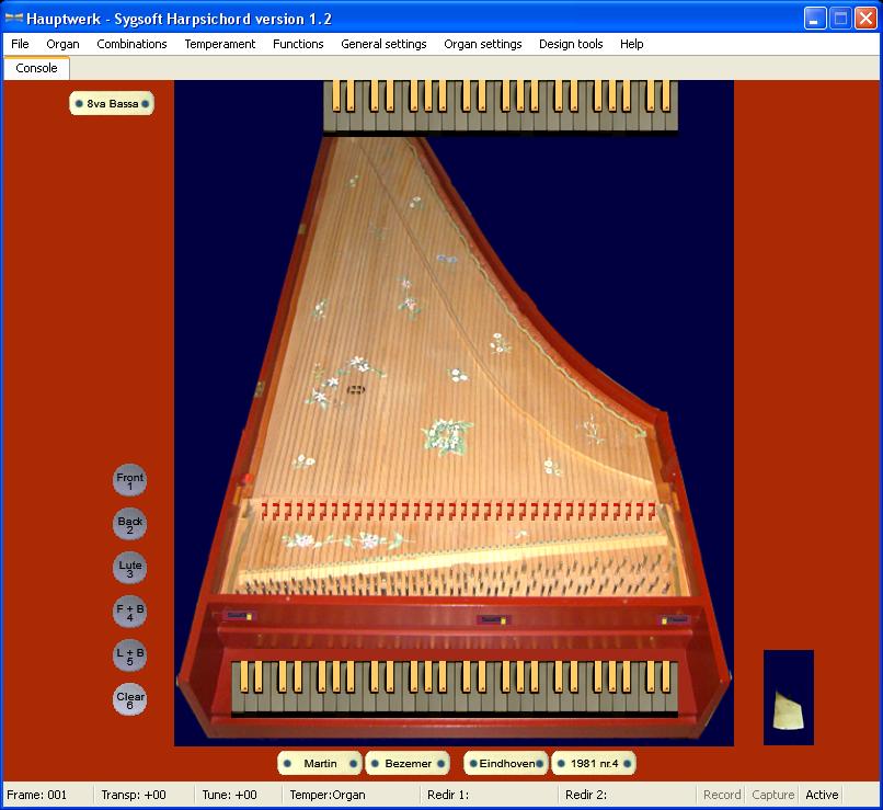 Harpsichord version 1.2