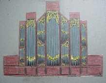 Orgel 1993 idee Bethelkerk Urk