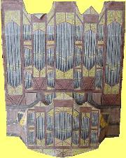 Orgel Groot met rugwerk